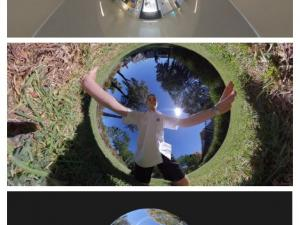 360 degree photos by students