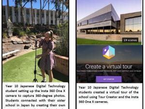 using insta 360 camera to create virtual tour