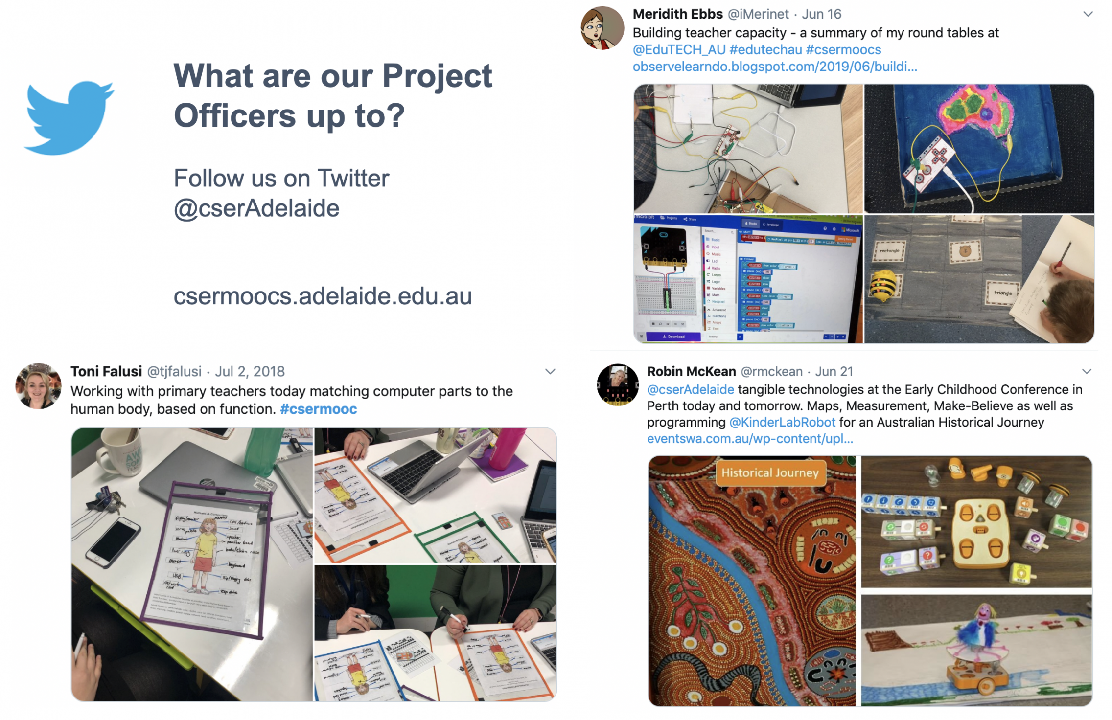 project officers on twitter