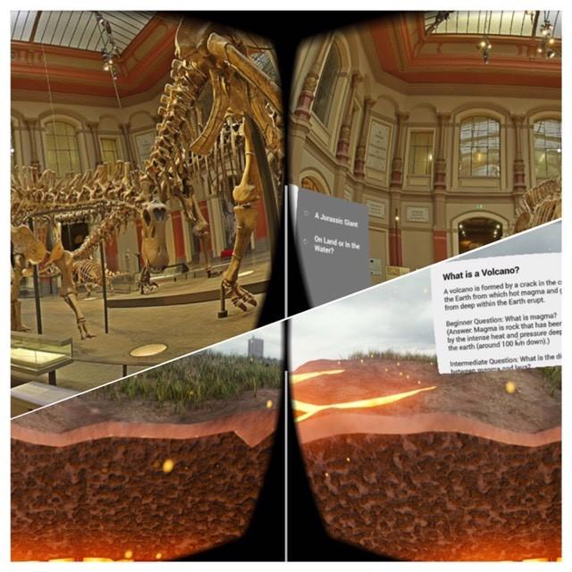 Google Expeditions samples